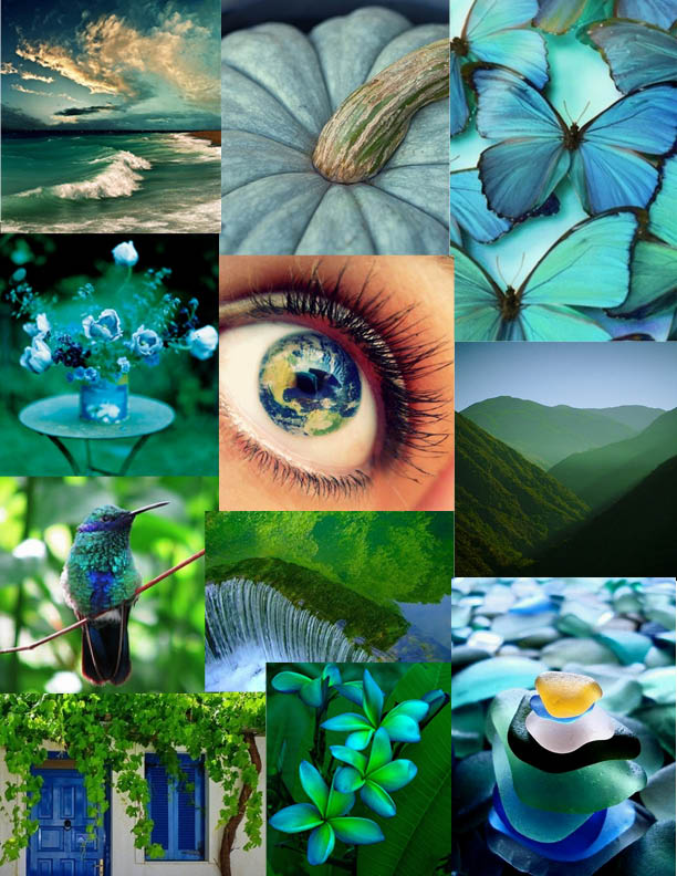 Moodboard Earth Day Inspiration Elements