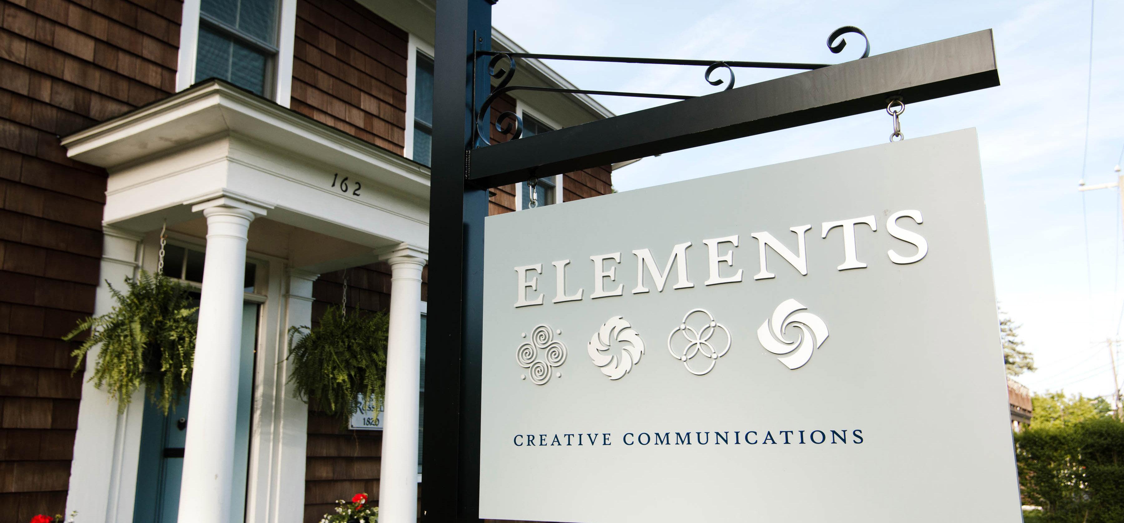 Elements Branford Connecticut Signage